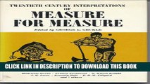 """[PDF] Shakespeare s """"Measure for Measure"""": A Collection of Critical Essays (20th Century"""