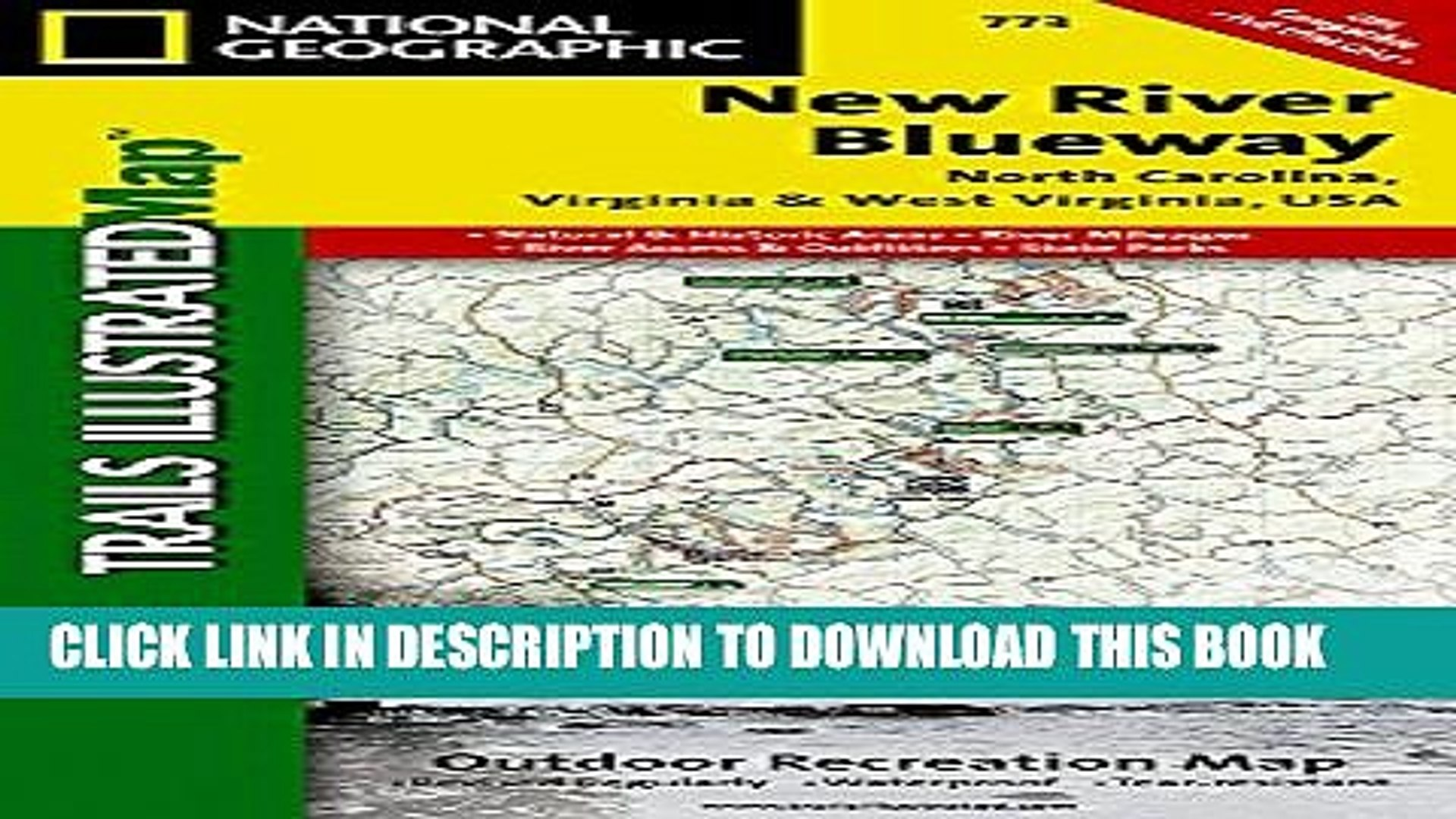 New Book New River Blueway (National Geographic Trails Illustrated Map)