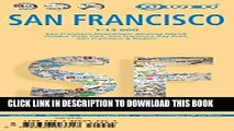 New Book Laminated San Francisco Map by Borch (English, French, Spanish, German and Italian Edition)