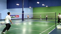 How to Hit a Smash Shot in Badminton - Badminton-BnnYw0Q6YO0