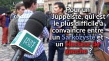 Pour les jeunes Juppéistes, il est plus difficile de convaincre un Sarkozyste qu'un électeur de gauche