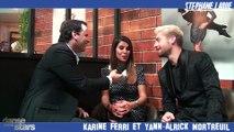 Danse avec les stars 7 - Interview VIDÉO de Karine Ferri et Yann-Alrick Mortreuil avec Stéphane Larue