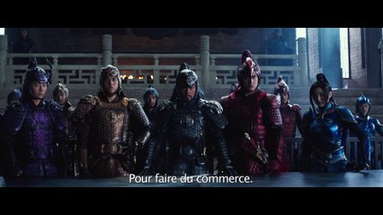 The Great Wall (La Grande Muraille) - bande-annonce VOST