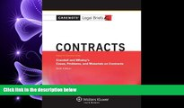 FULL ONLINE  Casenotes Legal Briefs: Contracts Keyed to Crandall   Whaley, Sixth Edition