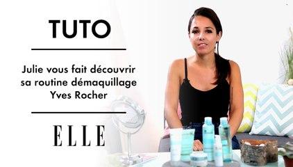Julie vous fait découvrir sa routine démaquillage Yves Rocher