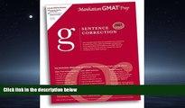 READ book  Sentence Correction GMAT Preparation Guide (Manhattan GMAT Preparation Guide: Sentence