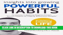 """[PDF] Insights into Growing Powerful Habits: Our journey in applying Stephen Covey s """"Seven Habits"""