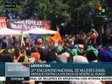 En Argentina sigue el XXXI Encuentro Nacional de Mujeres
