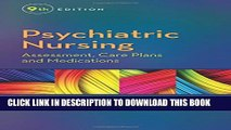 [PDF] Psychiatric Nursing: Assessment, Care Plans, and Medications Popular Online