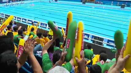 Raia Rápida marca a última competição do Estádio Aquático
