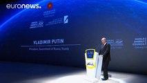"""Putin İstanbul'da açıkladı: """"Rusya, petrol fiyatları için ortak önlemlere katılmaya hazır"""""""