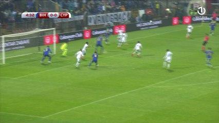 Šansa Pjanića u četvrtoj minuti protiv Kipra
