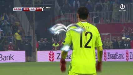 Pogodak Edina Džeke protiv Kipra (70. minut)
