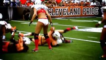 LFL Legends football league GIRLS ATTACK : hits and fights !