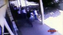 Teto da Escola Estadual Manoel Justiniano de Melo cai e fere crianças
