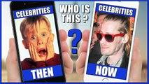Zac Efron, Macaulay Culkin,   Then & Now Celebrities 2016 #Animation