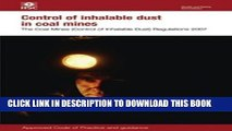 [PDF] Control of Inhalable Dust in Coal Mines 2007: The Coal Mines (Control of Inhalable Dust)