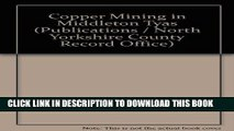 [PDF] Copper Mining in Middleton Tyas (North Yorkshire County Record Office publications) Popular