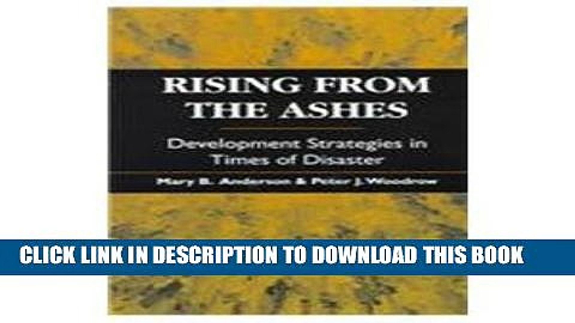 [PDF] Rising from the Ashes: Development Strategies in Times of Disaster Full Online
