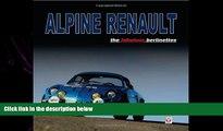 FAVORITE BOOK  Alpine Renault: the fabulous berlinettes