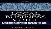 [PDF] Local Business Voice: The History of Chambers of Commerce in Britain, Ireland, and