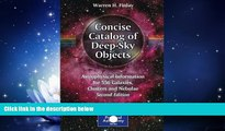 Popular Book Concise Catalog of Deep-Sky Objects: Astrophysical Information for 550 Galaxies,