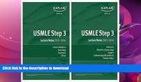 READ BOOK  USMLE Step 3 Lecture Notes Bundle FULL ONLINE