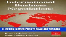 [PDF] International Business Negotiations (International Business and Management) Popular Colection