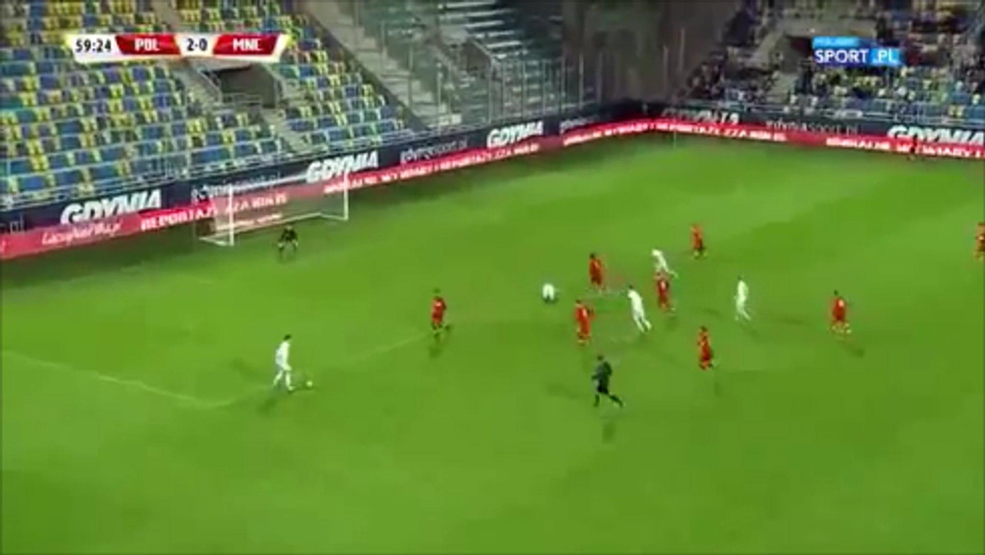 Mariusz Stępiński Long Range Golazo vs Montenegro U-21
