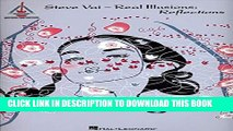Collection Book Steve Vai Real Illusions: Reflections (Guitar Recorded Version)