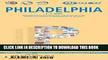 Collection Book Laminated Philadelphia Map by Borch (English Edition)