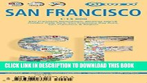 Collection Book Laminated San Francisco Map by Borch (English, French, Spanish, German and Italian