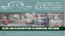 Collection Book 2007/2008 Davenport s Art Reference   Price Guide (Davenport s Art Reference and