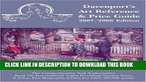 New Book 2007/2008 Davenport s Art Reference   Price Guide (Davenport s Art Reference and Price