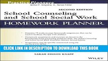 Collection Book School Counseling and School Social Work Homework Planner