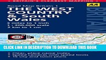 New Book West Country   Wales Road Map (AA Road Map Britain)
