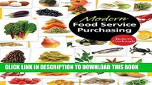 Collection Book Modern Food Service Purchasing: Business Essentials to Procurement