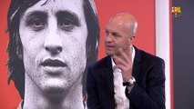 "Jordi Cruyff: ""My dad said they consider you crazy until one day you are a genius"""