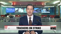 No major disruptions reported amid strike by truckers' union