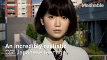 Watch this incredibly realistic CGI girl move for the first time