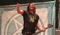 THE WALKING DEAD's Norman Reedus jams with ANTHRAX (2016)