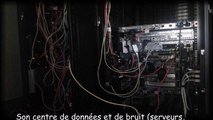 Son centre de données et de bruit (serveurs, stockages, commutateurs, routeurs, UPS)
