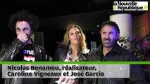 VIDEO. José Garcia et Caroline Vigneaux débarquent «à fond» au cinéma de Niort