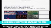 [PDF] Cell Culture Models of Biological Barriers: In vitro Test Systems for Drug Absorption and