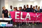 La dictée d'Ela : le centre de formation de l'OM soutient une bonne cause