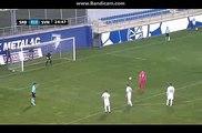 Srbija U21 vs Slovenija U21  2-1 -  Uros Djurdjevic iz penala Goal  - Kvalifikacije za EP - 11-10-2016