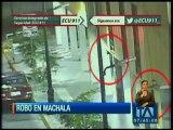 Cámaras de ECU 911 graban impactante intento de robo en Machala