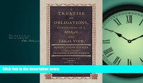 Books to Read  A Treatise on Obligations, Considered in a Moral and Legal View. Translated from