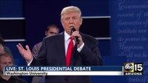 Presidential Debate: DT: Lincoln never lied unlike Clinton. Wikileaks - Hillary Clinton Donald Trump