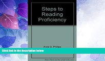 READ book  Steps to reading proficiency: Preview skimming, rapid reading, skimming and scanning,